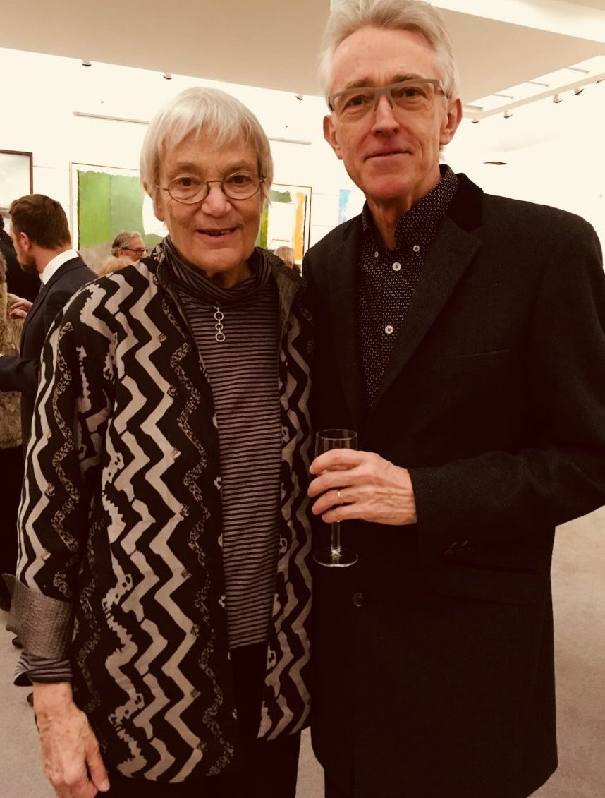 M.J. Long & Jeremy at Pallant House